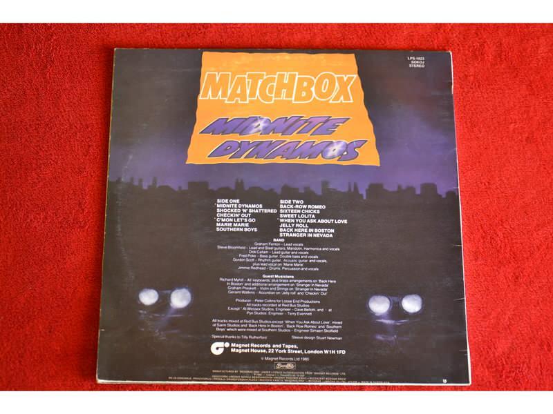 Matchbox (3) - Midnite Dynamos