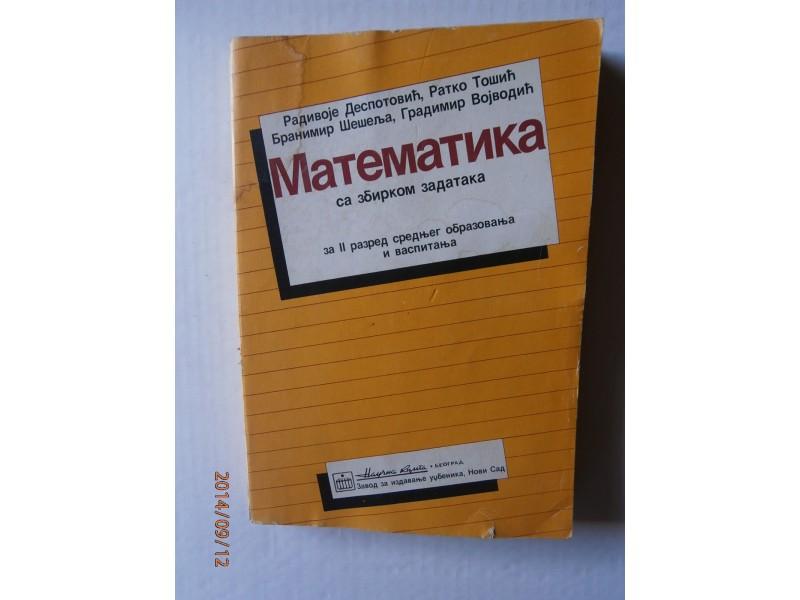 Matematika sa zbirkom zadataka II, Radivoje Despotović