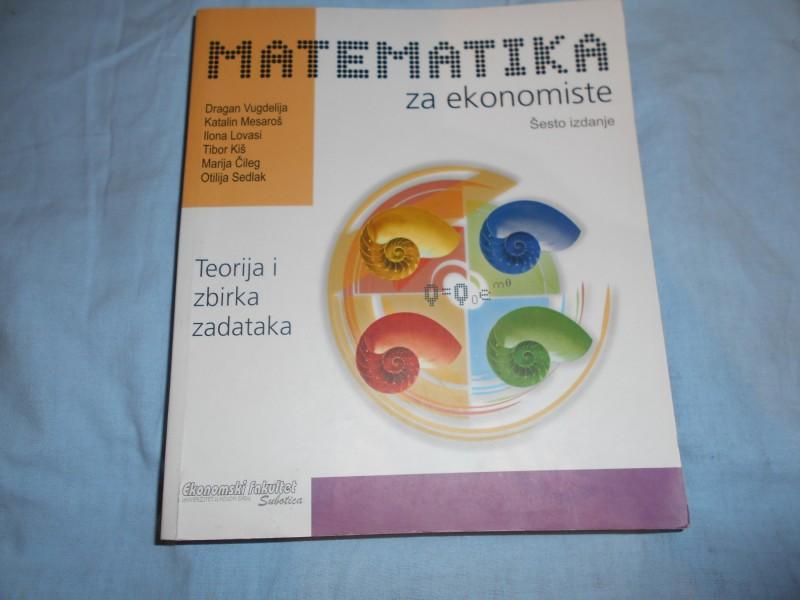 Matematika za ekonomiste,Dragan Vugdelija i dr.,EF UNS