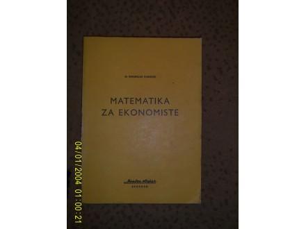 Matematika za ekonomiste