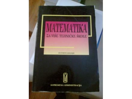 Matematika - za više tehničke škole
