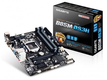 Matična ploča MB LGA1150 B85 Gigabyte GA-B85M-DS3H