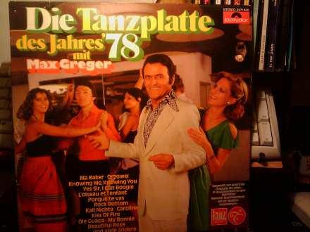 Max Greger - Die Tanzplatte des Jahres 78