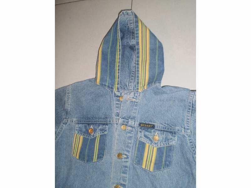 Medaki texas jaknica sa kapuljacom EXTRA