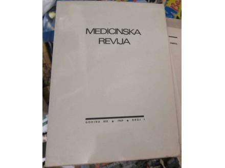 Medicinska revija broj 1 za 1969 godinu