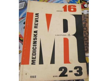 Medicinska revija dvobroj 2-3 za 1966 godinu