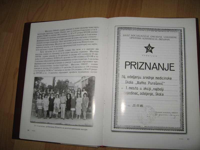 Medicinska skola Zrenjanin 1947 1997