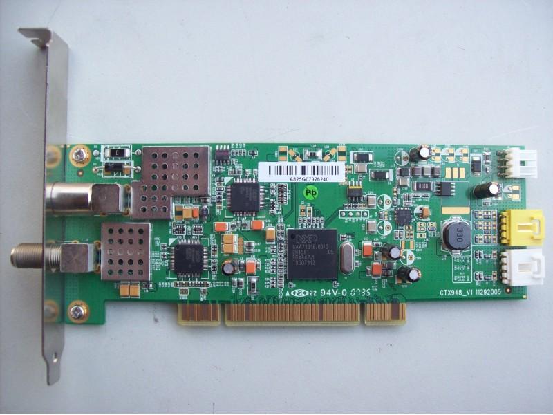 Medion TV/DVB-T/DVB-S Combo Card model: CTX948