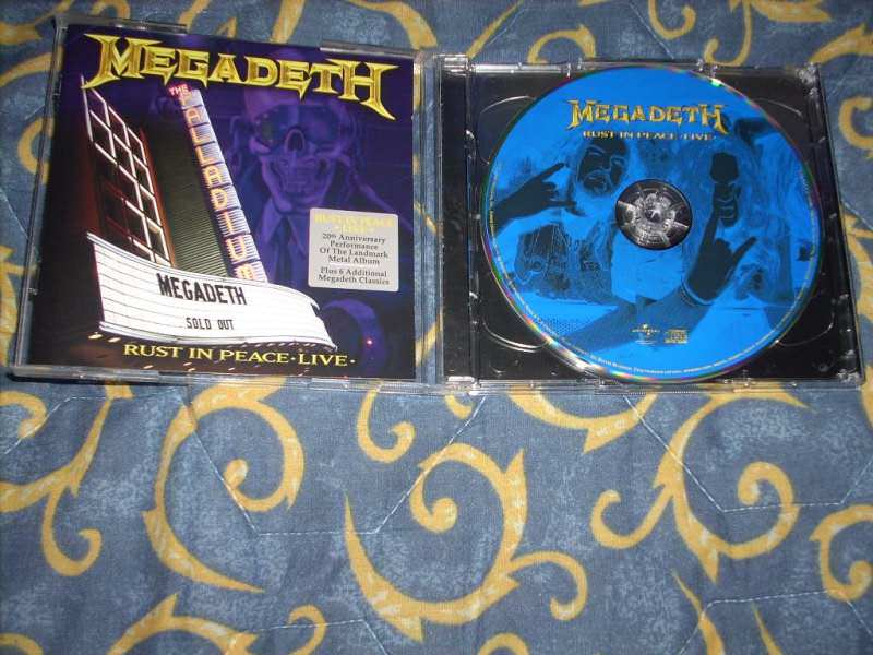 Megadeth - Rust In Peace Live CD+DVD