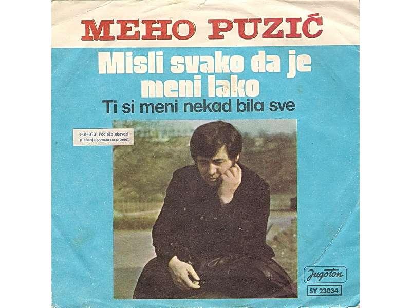 Meho Puzić - Misli Svako Da Je Meni Lako