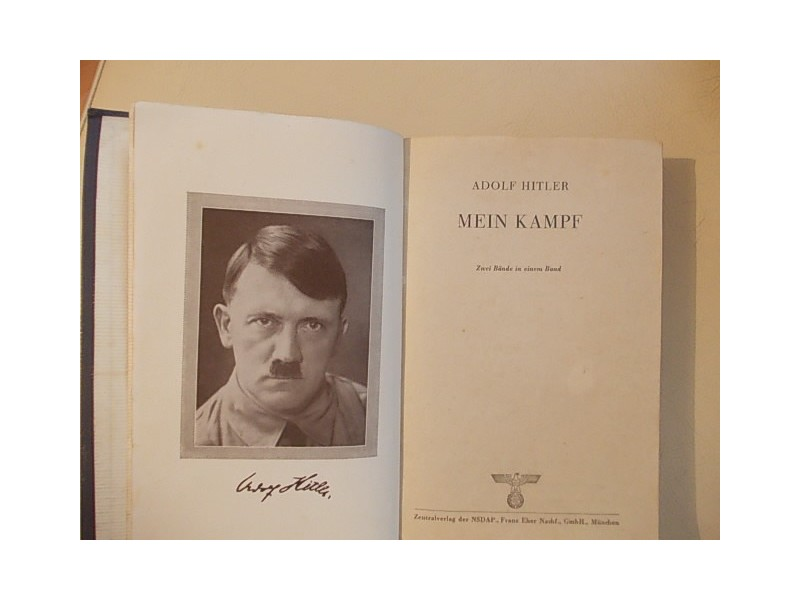 Mein Kamph Adolf Hitler ( Original )