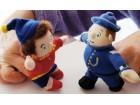 Mekane lutke za animaciju-meda, vatrogasac i Noddy