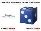 Meki oblik: Kocka sa brojevima