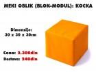 Meki oblik (blok modul): Kocka
