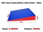 Meki oblik (blok modul): Kosa Ravan - Niska