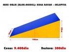 Meki oblik (blok modul): Kosa Ravan - Sklopiva
