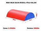 Meki oblik (blok modul): Polu - Valjak