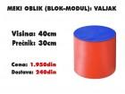 Meki oblik (blok modul): Valjak