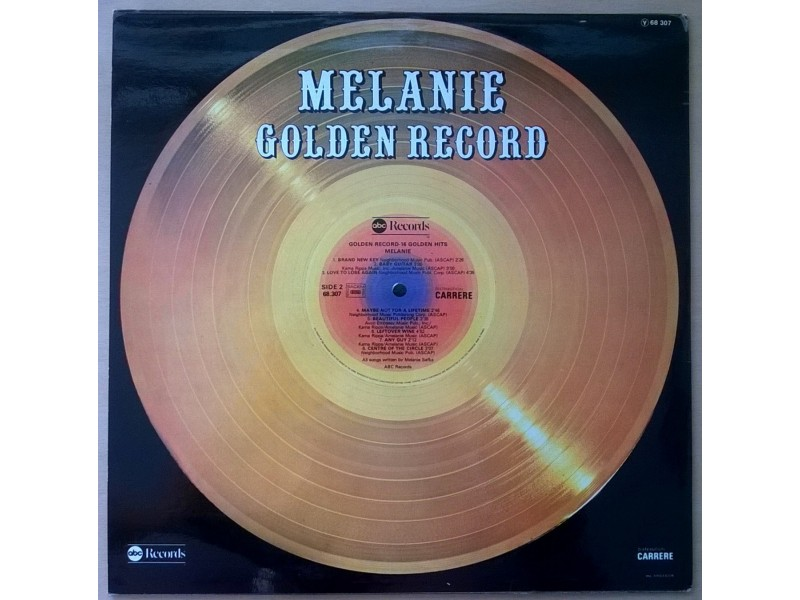 Melanie – Golden Record - 16 Golden Hits