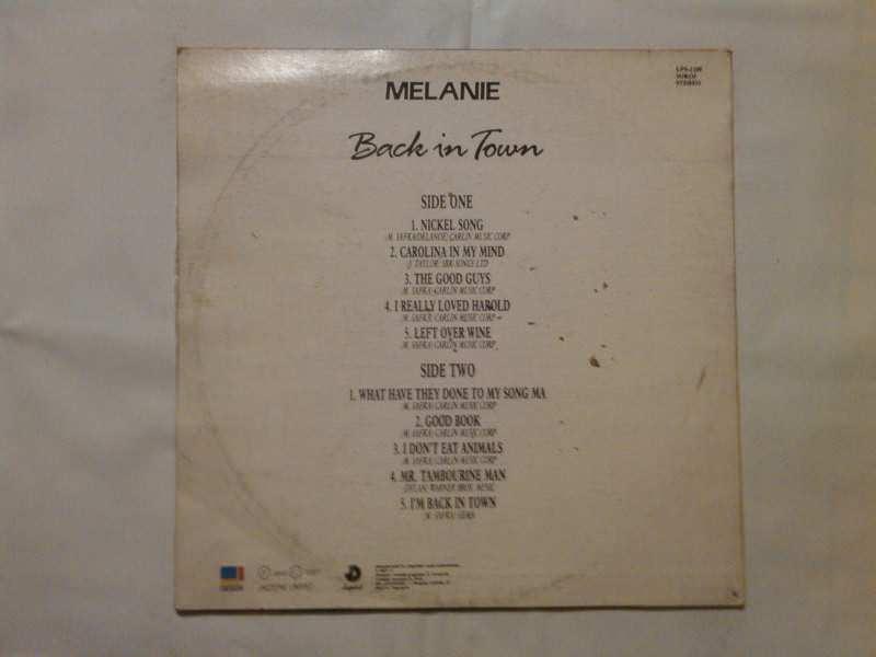 Melanie (2) - Back In Town