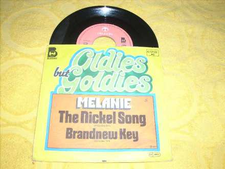 Melanie (2) - The Nickel Song / Brandnew Key