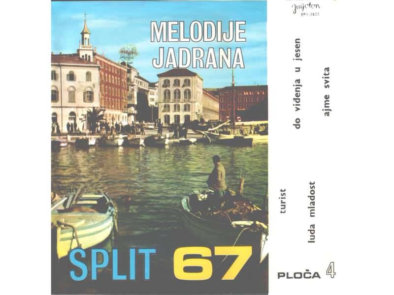 Melodije Jadrana 4. - Split 67
