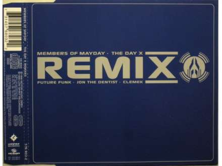 Members Of Mayday - The Day X (Remixes) CD-SINGL