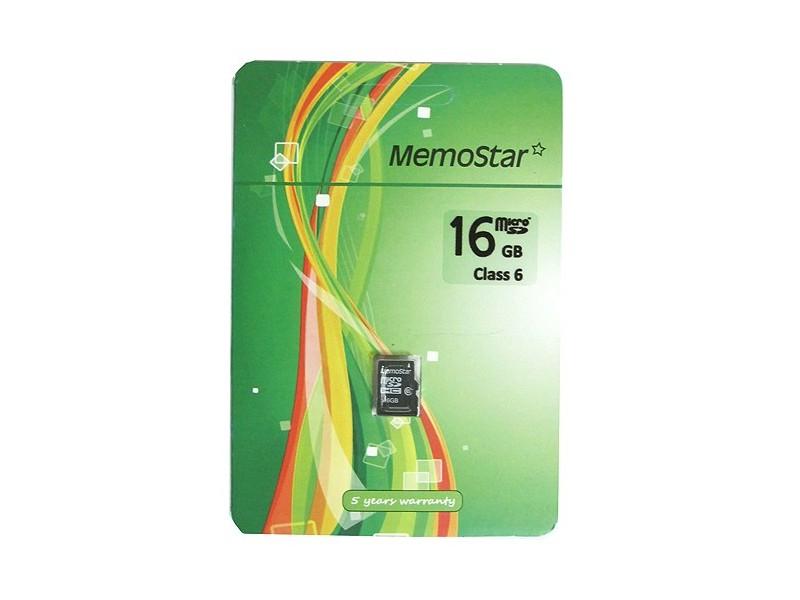 MemoStar kartica MICRO SD 16gb klasa 6-Racun,Gar.list