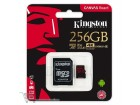 Memorijska kartica Kingston UHS-I U3 MicroSDXC 256GB V30 + SD Adapter SDCR/256GB React