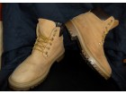 Men`s work boots from natural nubuck leather