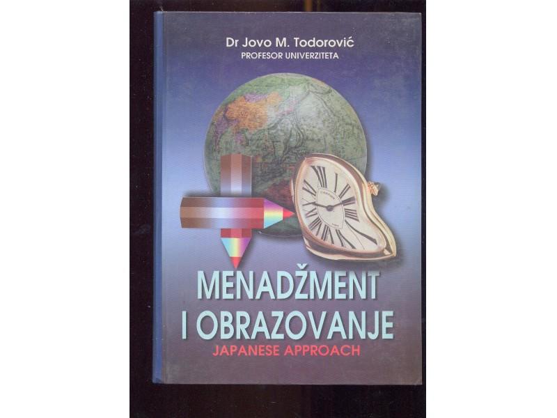 Menadzment i obrazovanje japanski pristup Jovo Todorovi