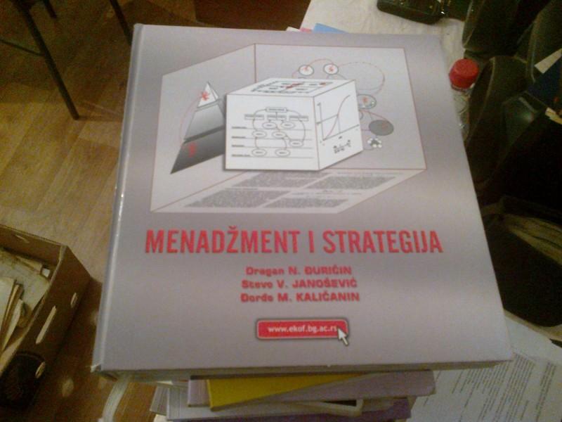 Menadžment i strategija - Đuričin Janošević Kaličanin