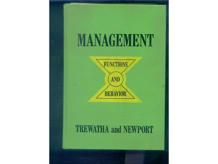 Menagement -functions and behavior Threwatha-Newport