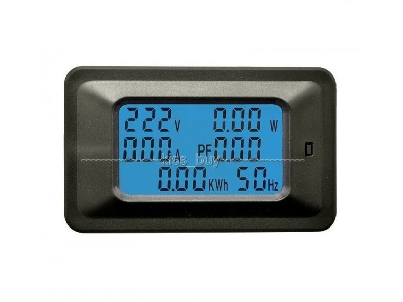 Merac V, W, A, Hz, faktora snage i energije  - 20A AC