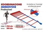 Merdevine za trening jednostruke podesive, dužine 3m