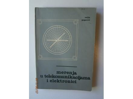 Merenja u telekomunikacijama i elektronici, V. Popović