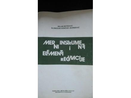 Merni instrumenti i elementi regulacije