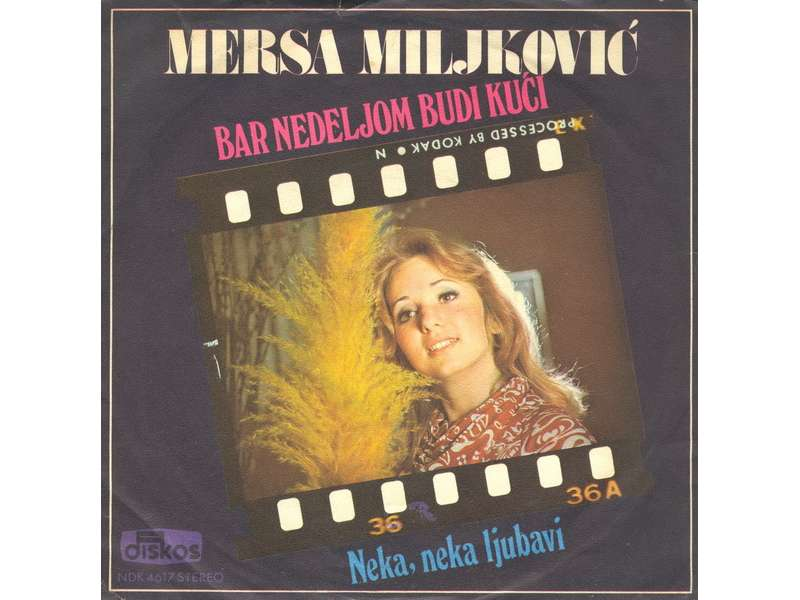Mersa Miljković - Bar Nedeljom Budi Kući