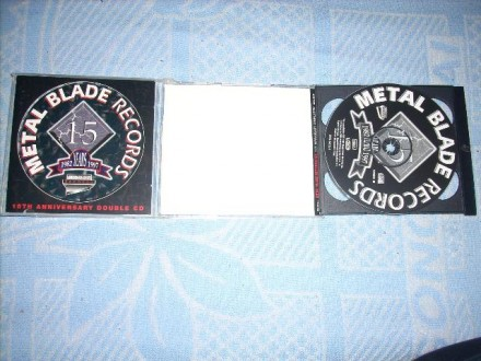 Metal Blade Records - 15th Anniversary Double CD