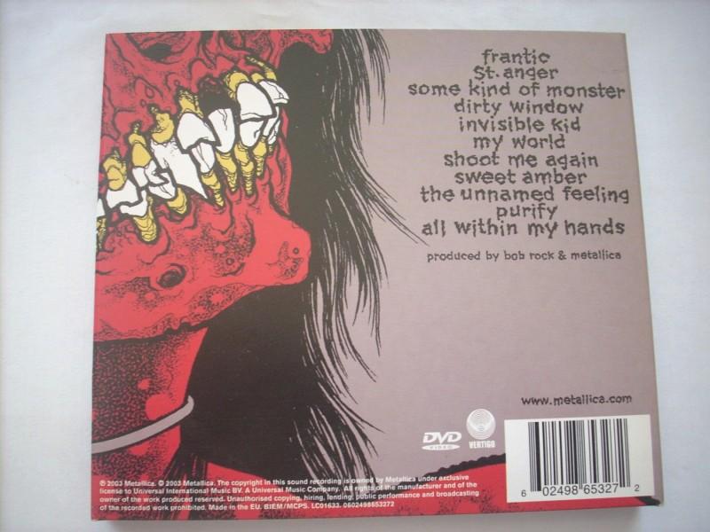 Metallica - St. Anger (CD+DVD)
