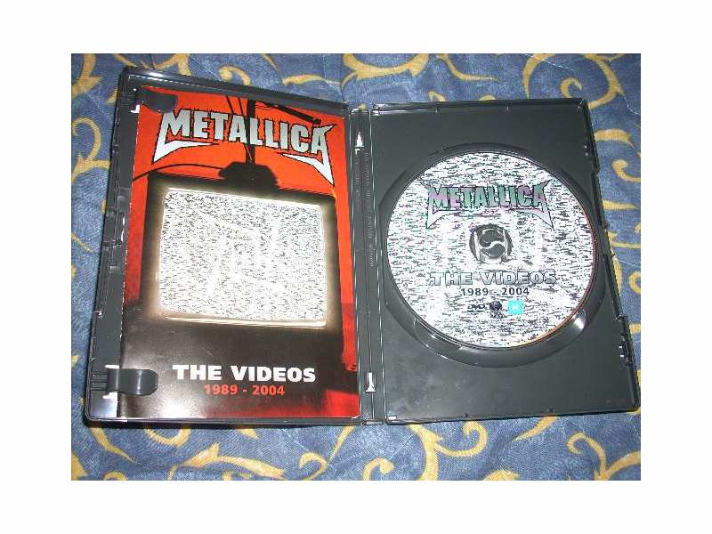 Metallica - The Videos 1989 - 2004 DVD