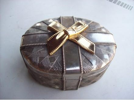 Metalna kutija za nakit - posrebrena ?