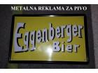 Metalna reklama za pivo - Eggenberger Bier
