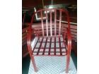 Metalne stolice za bastu, kafice i restorane