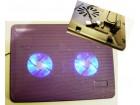 Metalni kuler za laptop sa dva ventilatora-Racun,Gar.li