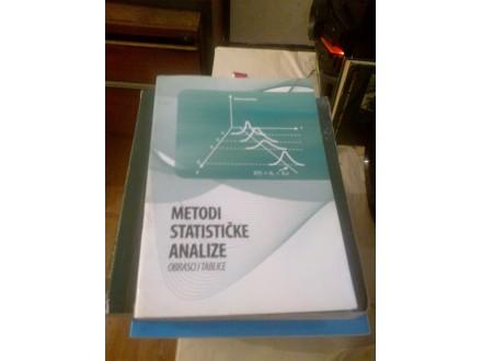Metodi statičke analize - obrasci i tablice