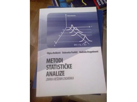 Metodi statičke analize - zbirka rešenih zadataka