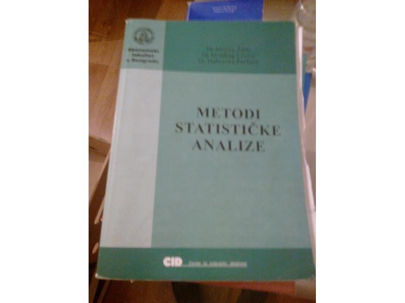 Metodi statističke analize - Žižić, Lovrić, Pavličić