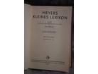 Meyers kleines lexikon izdanje 1932.