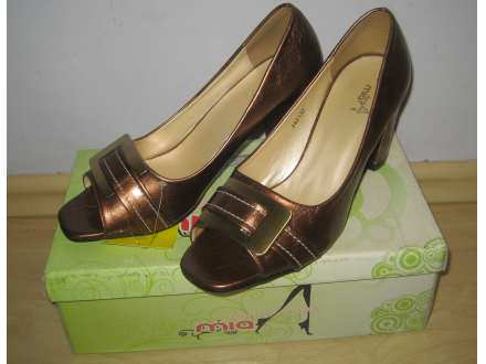 Mia Donna moda braon sandale NOVE extra!!!